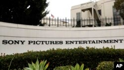 Sony Pictures Entertainment headquarters in Culver City, California, Dec. 2, 2014