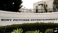 Sony Pictures Entertainment headquarters in Culver City, California, Dec. 2, 2014