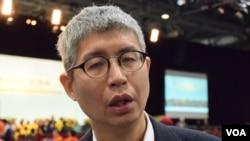 香港中文大學政治與行政學系副教授馬嶽 (VOA 湯惠芸攝)