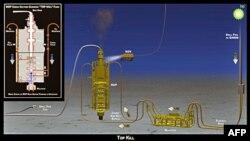 Đề đốc Tuần duyên Mary Landry cho biết sau khi tham khảo với các khoa học gia của chính phủ, bà đã chấp thuận kế hoạch của BP bịt chỗ dầu phun
