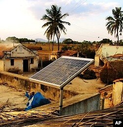 SELCO Devanhali solar panel