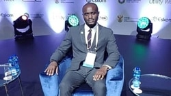 Entrevista de áudio com Rabby Gelson Ndombassy