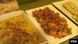 Lontong opor dan sambel goreng menjadi menu catering Artharini yang sering dipesan saat Idul Fitri.