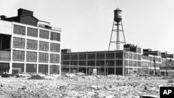 The old Packard plant in Detroit is now in disuse. (AP Photo)