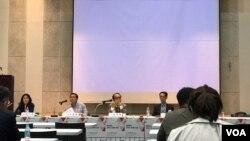 지난 21일 북한연구학회가 신촌 이화여자대학교에서 '변화하는 한반도 정세와 북한'이라는 주제로 2017 춘계학술대회를 열었다.