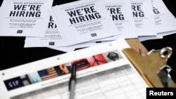 Prijave za pomoć za nezaposlene u Americi