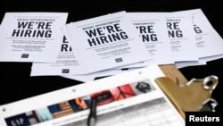 La solicitud de beneficios por desempleo en EE.UU. creció la semana pasada informó el Departamento de Trabajo el jueves, 10 de agosto de 2017.