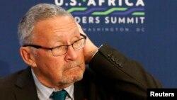 Le président intérimaire de la Zambie, Guy Scott.