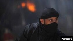 Один из бойцов сирийской оппозиции (архивное фото)
