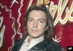 "Singer and teen idol David Cassidy, best known for his role as TV's Keith Partridge on ""The Partridge Family,"" is shown, Oct. 27, 1978. Location is unknown."