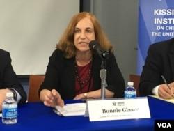 战略与国际研究中心亚洲问题高级研究员葛莱仪(美国之音钟辰芳拍摄)