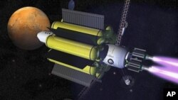 """""""จรวดพลังงานพลาสม่า"""" ความหวังใหม่ของภารกิจส่งมนุษย์ไปดาวอังคาร"""