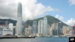 香港繁华地 中国成为全球第二大经济体