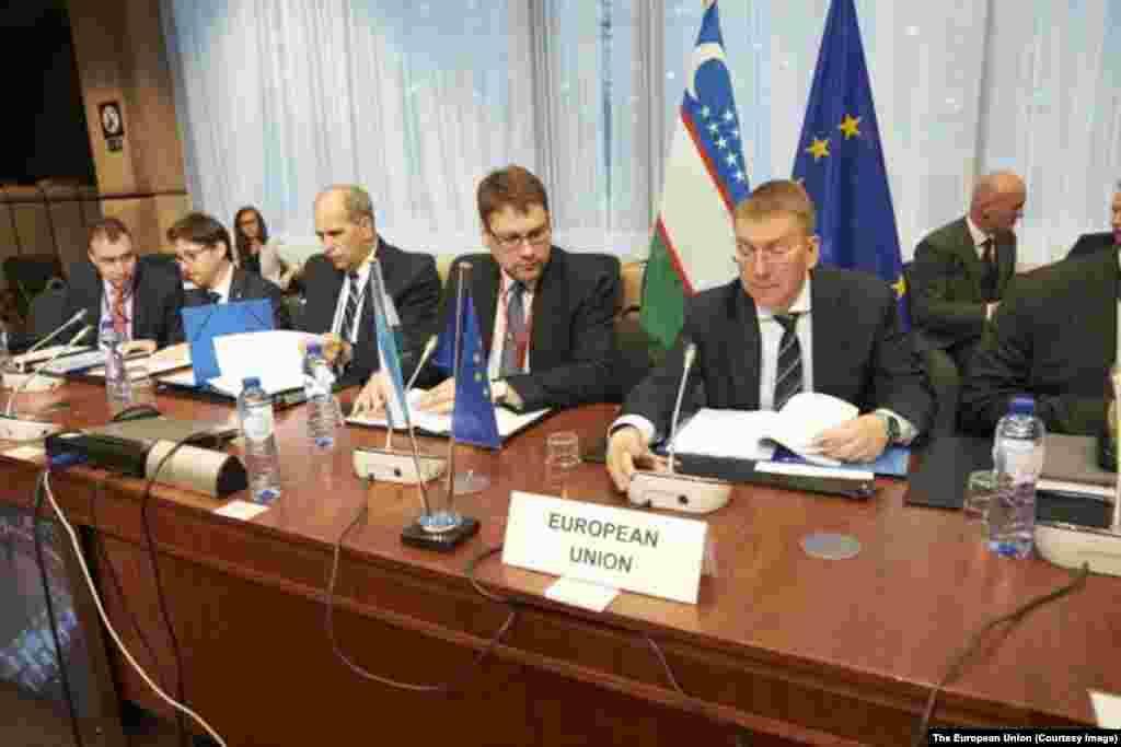 Yevropa Ittifoqi delegatsiyasi, Brussel, 18-may, 2015