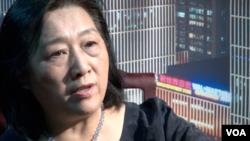 曾經獲得多項國際新聞獎的中國女記者高瑜(美國之音)