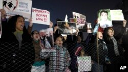 Demonstranti u Vašingtonu na jednom od okupljanja aktivista koji se zalažu za imigracionu reformu