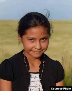 Santana Marie Janis, 12, at Pine Ridge Reservation, S.D. Courtesy/Keith Janis.