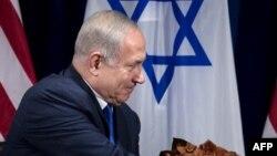 Le Premier ministre israélien Benjamin Netanyahu à New York, le 18 septembre 2017.