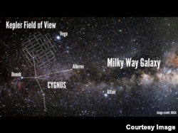 NASA's Kepler spacecraft observed 150,000 stars within a field in the constellation Cygnus. (NASA)