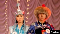 Buryatian national costumes
