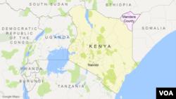 Letak Mandera, Kenya