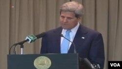 John Kerry s'est dit optimiste au terme de sa visite au Pakistan