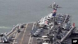 미 항공모함 조지 워싱턴호(자료사진)