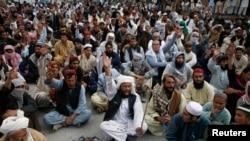 اہل سنت والجماعت کے احتجاجی مظاہرہ