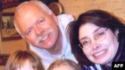 Кэрол Пирсон с семьей