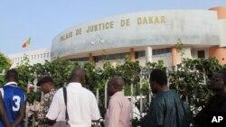 Le palais de justice de Dakar