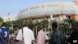 Le Palais de justice de Dakar, le 20 juillet 2015.