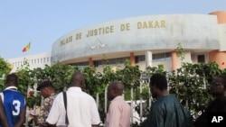 Le palais de la justice à Dakar, Sénégal.