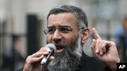 Anjem Choudary, ulama radikal Inggris, London (Foto: dok).