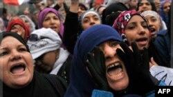 """Qohiraning """"Tahrir"""" maydonida namoyishlar"""