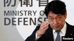 日本防卫大臣小野寺五典(资料照)