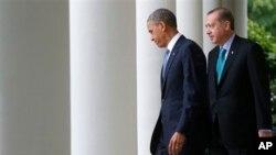 Başbakan Erdoğan Mayıs ayında Washington'a yaptığı ziyarette Beyaz Saray'da Başkan Obama'yla görüşmüştü
