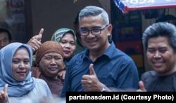 Muhammad Farhan bertarung di Dapil 1 Jawa Barat meliputi Kota Bandung dan Kota Cimahi lewat Partai Nasdem (courtesy: partainasdem.id)
