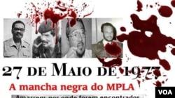 Angola Luanda 27 de Maio Nito Alves manifestação