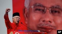 马来西亚总理纳吉布(资料照片)
