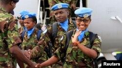 جنوبی سوڈان میں تعینات امن کار۔ (فائل فوٹو)