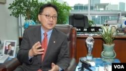 탈북자 출신 조명철 한국 국회의원. (자료사진)
