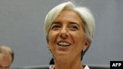 Bà Christine Lagarde, được bầu vào chức vụ Tổng giám đốc IMF