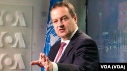 Ministar spoljnih poslova Ivica Dačić u studiju Glasa Amerike u Njujorku