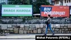 Predizborni plakati u Sarajevu