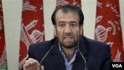 د افغانستان د عدليې وزیر فضل احمد معنوي