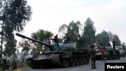 Gunfire Along DRC, Rwanda Border