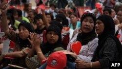 Muslimanke u logoru demonstranata danas u Bangkoku