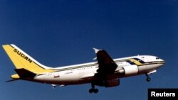 Un avion de la compagnie Sudan Airways, le 10 juillet 1996.
