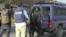 Arrestation d'un manifestants au Gabon.