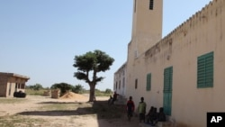 FILE - the mosque that was used by Imam Alioune Badara Ndao in Kaolack, Senegal, Nov. 20, 2015. Dozens of armed security forces descended on the Quranic school at night, Feb. 8, 2016, arresting an imam suspected of having links to Islamic extremists in Nigeria.